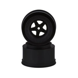J Concepts JCO3408B Starfish Mambo SE Rear Drag Racing Wheels (Black) (2)