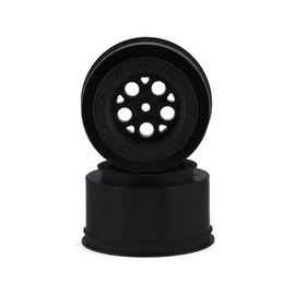 J Concepts JCO3409B  Coil Mambo SE Rear Drag Racing Wheels (Black) (2)