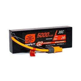Spektrum SPMX52S30H5  Spektrum 2S 7.4v 5000mAh 30C Gen2 LiPo w/ IC5 Plug