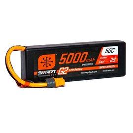 Spektrum SPMX52S50H3  Spektrum 2S 7.4v 5000mAh 50C Gen2 LiPo w/ IC3 Plug