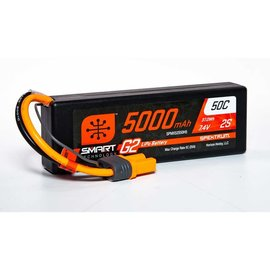 Spektrum SPMX52S50H5  Spektrum 2S 7.4v 5000mAh 50C Gen2 LiPo w/ IC5 Plug