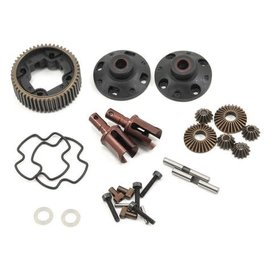 Serpent SER500485  Aluminum Rear Gear Differential for Spyder SRX-4 / DR10 / PROSC10