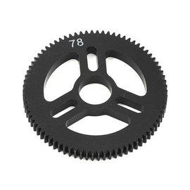 Exotek Racing EXO1546  Flite Spur Gear 48P 78T, Machined Delrin for EXO Spur Gear Hubs