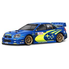 HPI HPI17205  2004 Subaru Impreza WRC Clear Body 190mm WB255mm