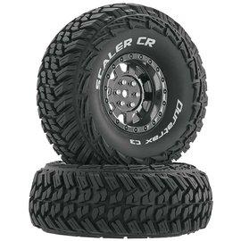 "Duratrax DTXC4023  Scaler CR C3 Mounted 1.9"" Chrome Crawler Tires (2)"