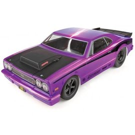 Team Associated ASC70028C  Purple 1/10 DR10 2WD Drag Race Car Brushless RTR with LiPo Combo