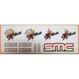 SMC SMC1011 Race Formula Extreme Sticker Sheet