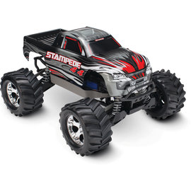 Traxxas TRA67054-1  Silver Traxxas Stampede 4X4 LCG 1/10 RTR Monster Truck (Silver) w/XL-5 ESC, TQ 2.4GHz, Battery & Charger