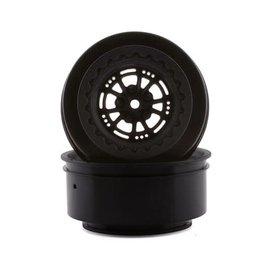 "Drag Race Concepts DRC-216  AXIS 2.2/3.0"" Drag Racing Rear Wheels w/12mm Hex (Black) (2)"