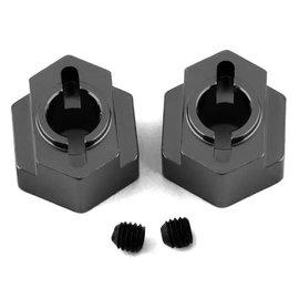STRC SPTSTC91418GM  Gun Metal Aluminum Rear Hex Adapters (2) DR10