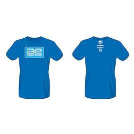 Team Associated ASC97022  Blue Associated Electrics Logo T-Shirt Large