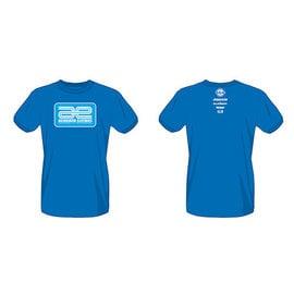 Team Associated ASC97021  Blue Associated Electrics Logo T-Shirt Medium
