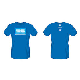 Team Associated ASC97020  Blue Associated Electrics Logo T-Shirt Small