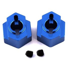 STRC SPTSTC91418B  Blue  Aluminum Rear Hex Adapters (2) DR10