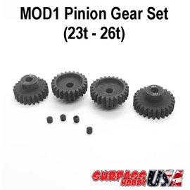 Surpass Hobby USA MOD12326 MOD1 Pinion Gear Set 23T-26T Hard Coated Alloy Steel (4)