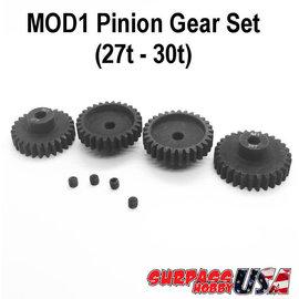 Surpass Hobby USA MOD12730 MOD1 Pinion Gear Set 27T-30T Hard Coated Alloy Steel (4)