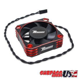 Surpass Hobby USA SP-560001-01 Rocket Red 50mm Aluminum Cooling Fan 10,000 RPM