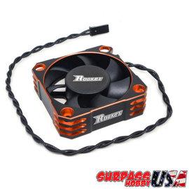 Surpass Hobby USA SP-560001-02 Rocket Orange 50mm Aluminum Cooling Fan 10,000 RPM