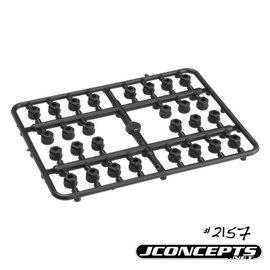 J Concepts JCO2157  3mm Plastic Nut - 28Pc