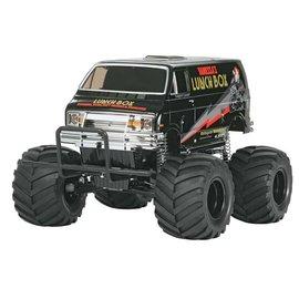 Tamiya TAM58546  1/12 Lunch Box Monster Truck Kit, Black Edition