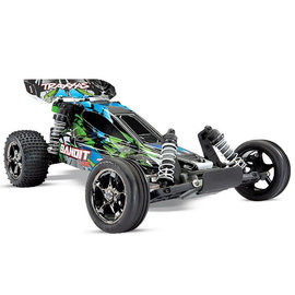 Traxxas TRA24076-4  Green Bandit 1/10 VXL Buggy RTR w/o Battery & Charger