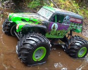 LOSI LMT 4wd Solid Axle Monster Truck - Grave Digger RTR