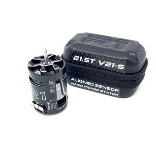 R1wurks R1  020078-3  R1 21.5T V21-S  Brushless Motor Aligned Sensor + Hand Picked Stator ROAR