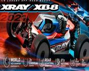 XRAY XB8'21 1/8 4WD Electric Buggy