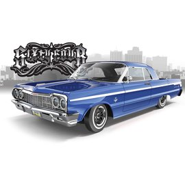 RER13785 Redcat  Sixtyfour 1/10 Impala Electric Hopping Lowrider (Classic Blue)