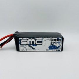 SMC SMC50390-6S1PXT90  DV Extreme 22.2V-5000mAh-55C-10AWG w/ XT90 Plug