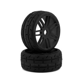GRP Tyres GRPGTX01-S4  TO1 Belted 1/8 High Speed Tires (17mm Hex)(Black) (2) (S4)