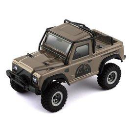Hobby Plus HBP162410-605009  BRONZE HobbyPlus CR-24 Defender 1/24 RTR Scale Mini Crawler (Bronze)