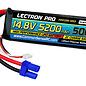 Lectron Pro 4S5200-50S5  Lectron Pro Hard Case 4S 14.8v 5200mAh 50C LiPo Battery w/ EC5 Plug