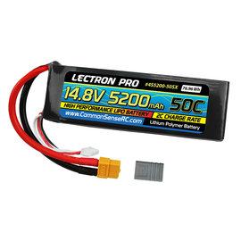 Lectron Pro 4S5200-50SX  Lectron Pro Soft Case 4S 14.8v 5200mAh 50C LiPo Battery w/ Traxxas Plug