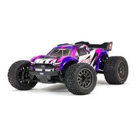 Arrma ARA4305V3T2   ARRMA Purple 1/10 VORTEKS 4X4 3S BLX Stadium Truck Purple