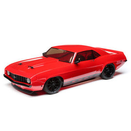 TLR / Team Losi LOS03033T1  Losi Red 1/10 1969 Chevy Camaro V100 AWD Brushed RTR, Red