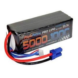 Power Hobby PHB6S5000100CECS  5000mAh 22.2V 6S 100C LiPo Battery w/ EC5 Connector