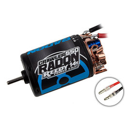 Team Associated ASC27464  Reedy Radon 2 550 Crawler 5-Slot Brushed Motor (14T)