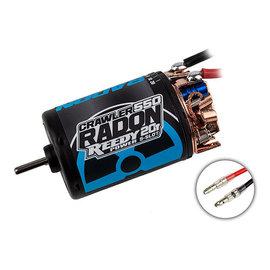 Team Associated ASC27466  Reedy Radon 2 550 Crawler 5-Slot Brushed Motor (20T)