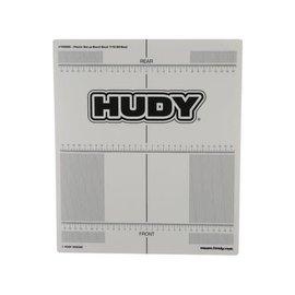 Hudy HUD108660  Hudy Plastic Set-Up Board Decal 331x386mm - 1/10 Off-Road