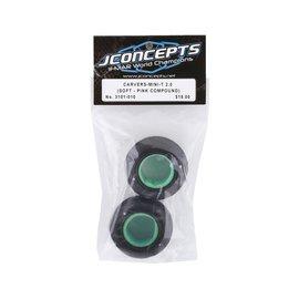 J Concepts JCO3101-010  JConcepts Mini-T Carvers Off-Road Front Tires (2) (Pink)