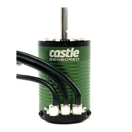 Castle Creations CSE060-0066-00  Castle Creations 1410 1Y 4-Pole Sensored Brushless Motor (3800kV) w/ 5MM Shaft