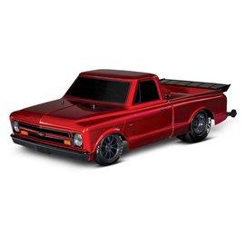 Traxxas TRA94076-4  Red Drag Slash Brushless Drag Chevy C-10 Truck