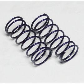 Custom Works R/C CSW1828  Purple Big Bore Shock Springs (2)