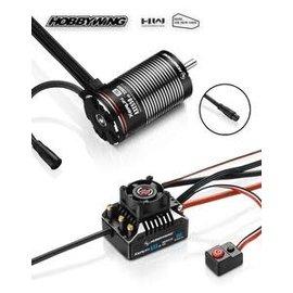 Hobbywing HWI38020314  Hobbywing AXE 550 R2-FOC Waterproof Sensored Brushless Combo w/3300Kv Motor