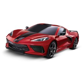 Traxxas TRA93054-4  Red C8 Corvette 4-Tec 3.0 RTR 1/10 w/o Battery & Charger w/ 2.4ghz Radio