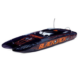 Proboat PRB08043T1  Blackjack 42-inch Brushless 8S Cat,BLK/ORG:RTR