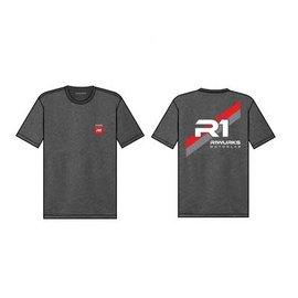 "R1wurks R1-090034  ""R1 Racing Stripe"" T-Shirt Large"