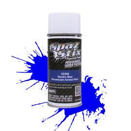 Spaz Stix SZX02259  Electric Blue Fluorescent Aerosol Paint (3.5oz)