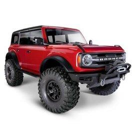 Traxxas TRA92076-4  RED Traxxas TRX-4 1/10 Crawler w/2021 Ford Bronco Body (Red) w/TQi 2.4GHz Radio